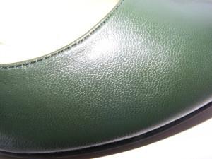 Продам туфли размер 40, цвет темно-зеленый