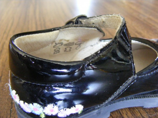 детские туфли на низкий подъем. 22р. Лакированая кожа
