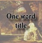 onewordtitle