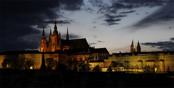 Прага, добрый охотник!