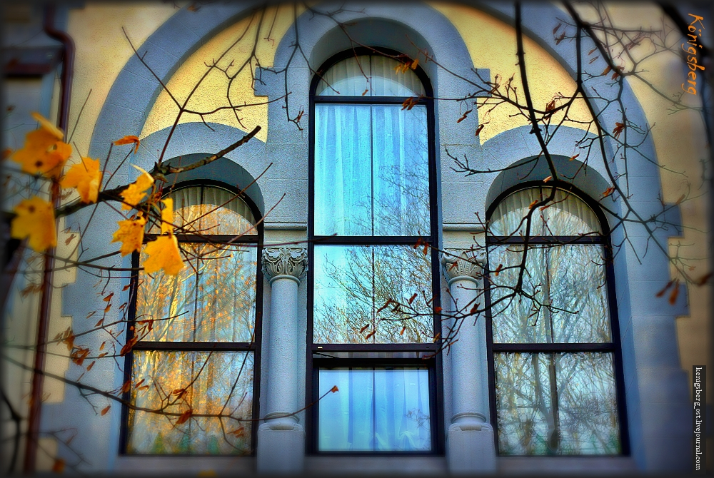 окно..