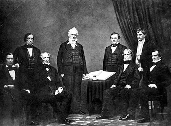 Buchanan_Cabinet