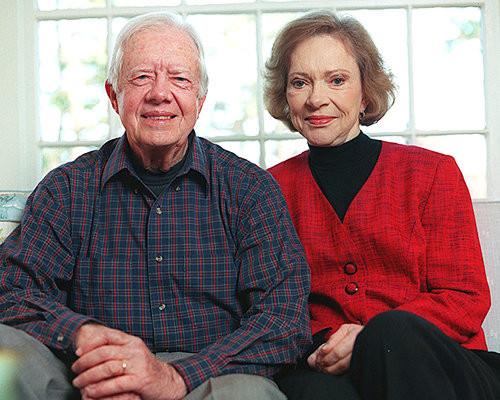 President Jimmy and Rosalynn Carter