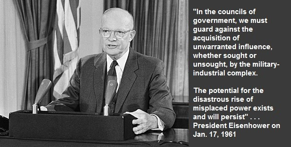 President-Eisenhower-warning-military-industrial