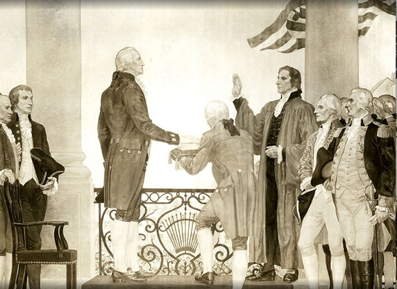 After The Convention, A Very Tired George Washington Returned To His Estate  In Virginia, Mount Vernon, Intent On Resuming His Retirement And Letting  Others ...