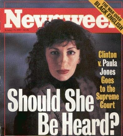 Image result for bill clinton scandal with paula jones