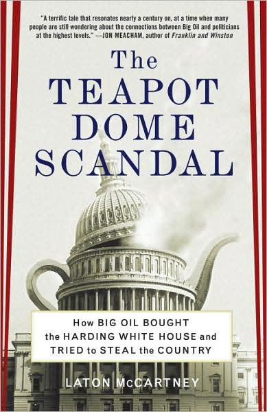 Teapot Dome Scandal Newspaper Article