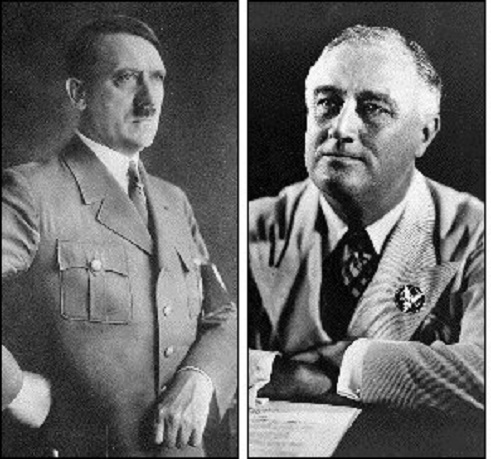 fdr vs hitler Hitler and fdr were both excellent politicians, they were able to manipulate the people to do their own whim very affectively, if in different ways fdr tried to play the role of the common man he wanted to make the public feel as if he was one of them.
