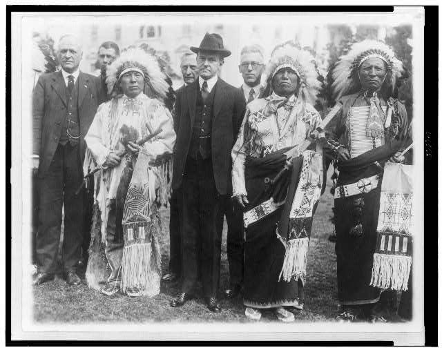 Cal coolidge and native rights presidential history geeks