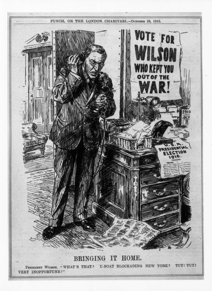 Image result for woodrow wilson he kept us out of war