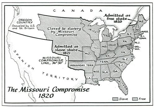 The Missouri Compromise: potus_geeks