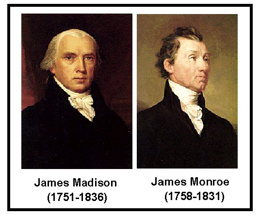 Presidents and Their Cabinets: James Madison: potus_geeks ...