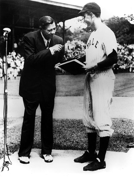 Babe Ruth and George H. Bush