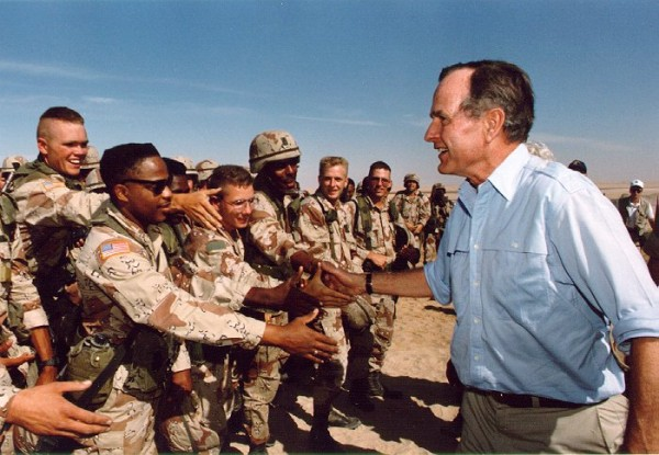 Bush Troops