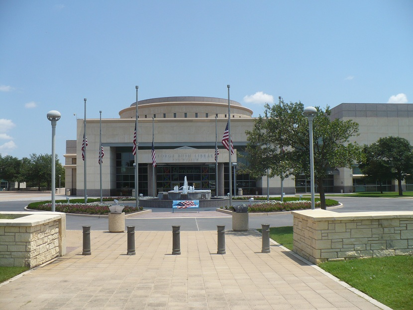 Presidential Places The George H W Bush Presidential Library