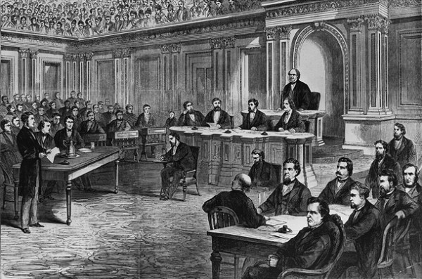 Senate-Johnson-Impeachment-Trials