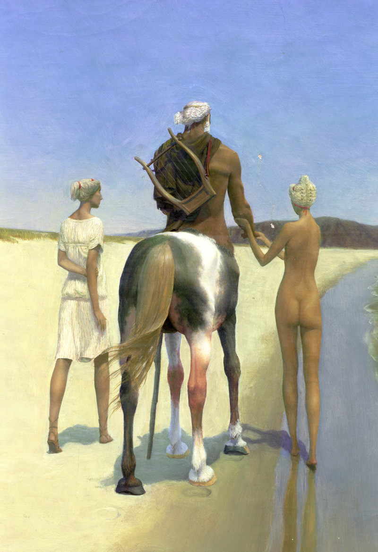 Хирон со спартанками фрагмент с сайта худ