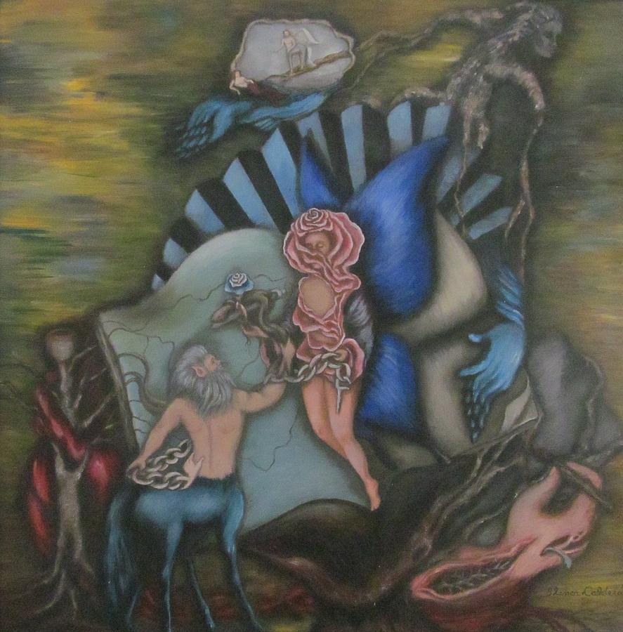 blanca-calderon Centauro y rosa
