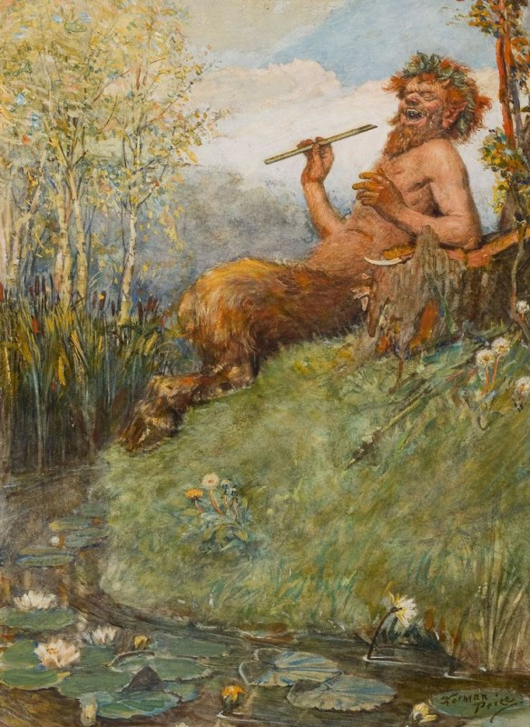 NORMAN MILLS PRICE American 1877-1951 The Great God Pan