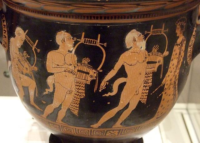 papposilenoi 420 BC bellkrater