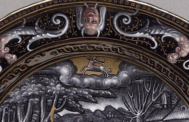 Тарелка с Зодиаком из Худ ист муз Вены от Фани 16 в bratez