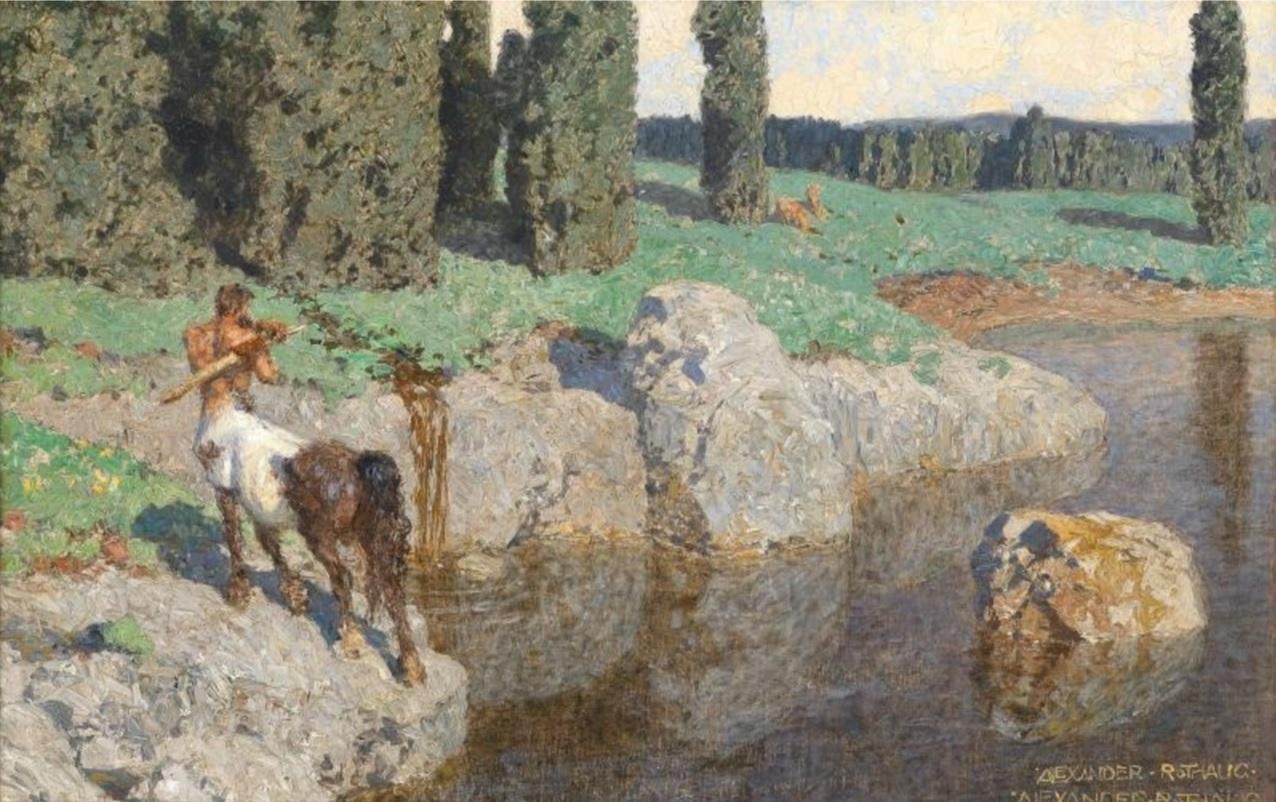 Alexander Rothaug Австрия 1870 - 1946 Доротеум 2010