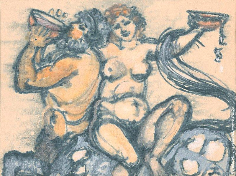 Tatiana Leonova Festing Centaur and Bacchante