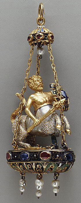 _Fh_fh00001008_-_Pendant_in_the_form_of_a_centaur_late_16th_early_17th_century