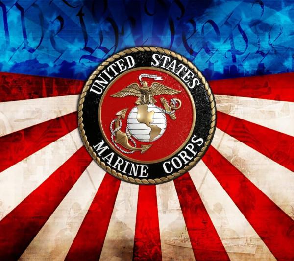 Морская пехота США флаг
