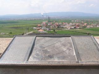 Косово поле. Вид с башни Газиместана