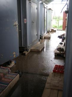 В лагере сербских беженцев
