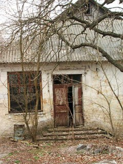 Чернобыль. Брошенный дом
