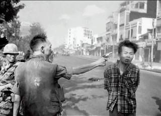 Казнь вьетнамского партизана