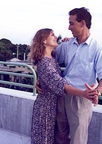 С женой Мэгги. Танцы во Флориде
