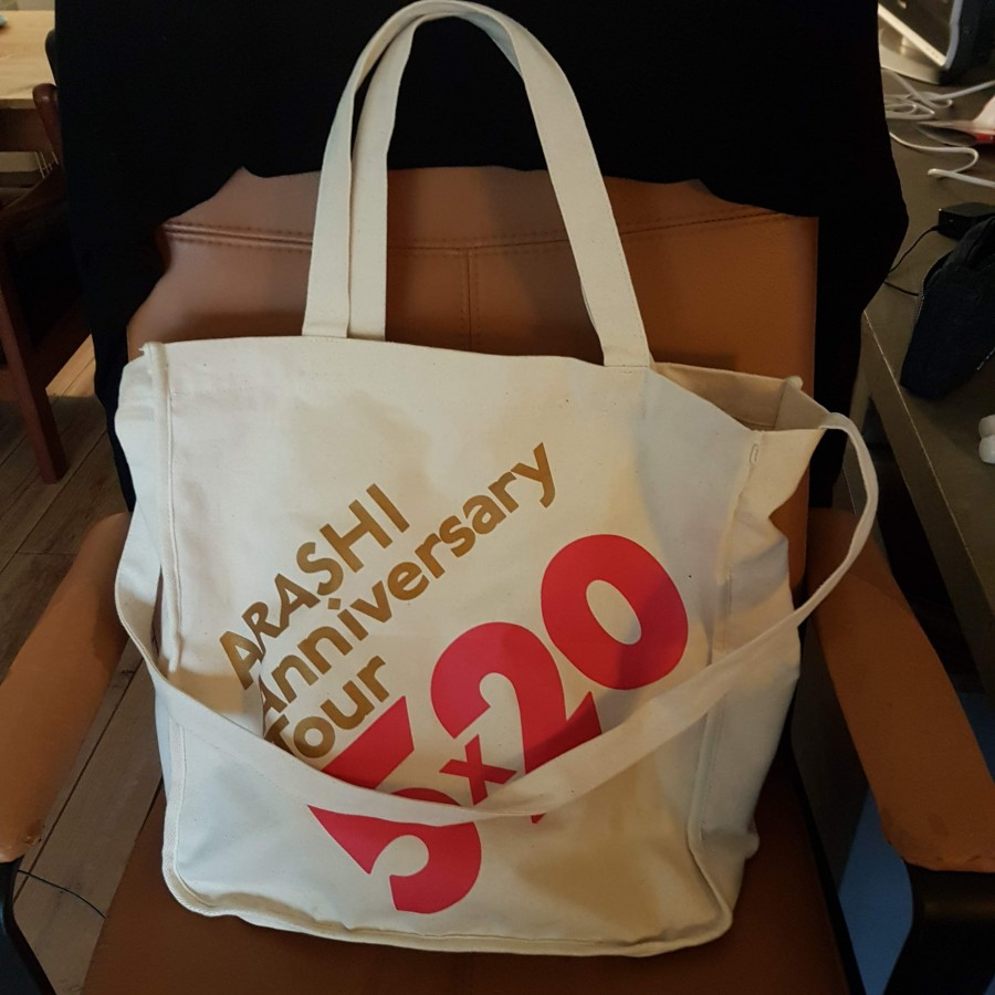 concert goods] 5x20 Shopping Bag: arashianreviews — LiveJournal