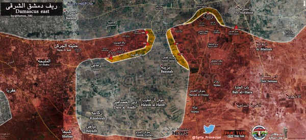Southern-Ghouta-Map