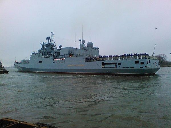 Фрегат проекта 11356 Адмирал Григорович