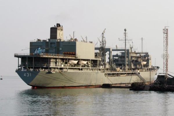 IRAN 431 KHARG on 07-10-2009 f1 groot