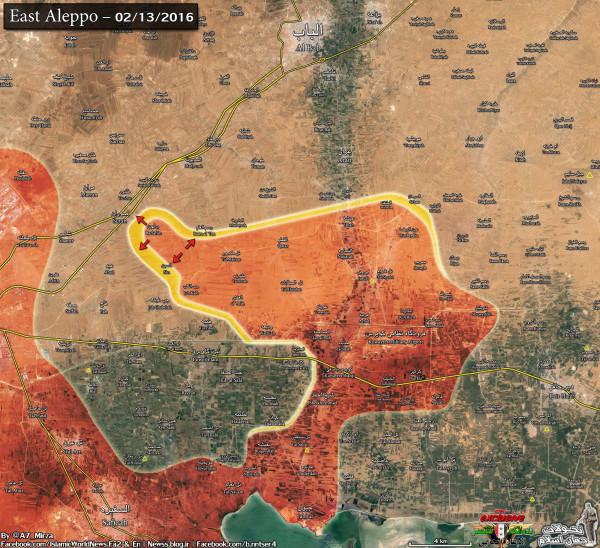East Aleppo 4km cut1 13feb 23bahman
