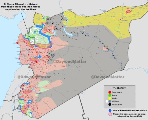 """еще раз о """"ста примирившихся"""" бандах в Сирии"""