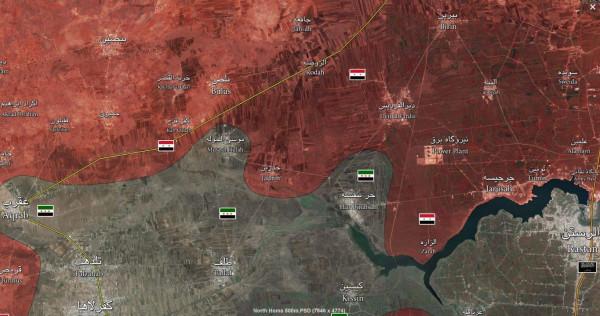 Homs-Hama-map