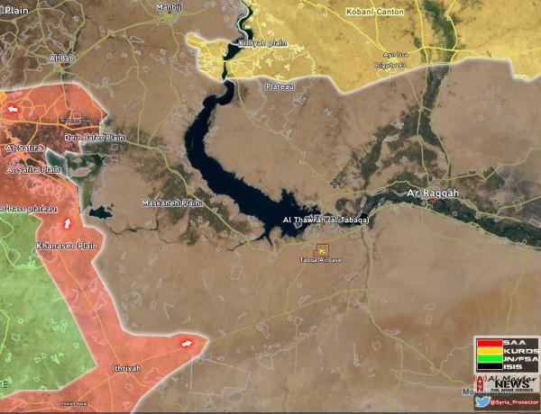 Raqqah-Map
