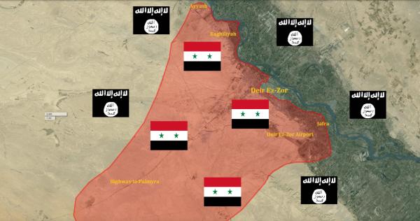 Deir-Ez-Zor-Map