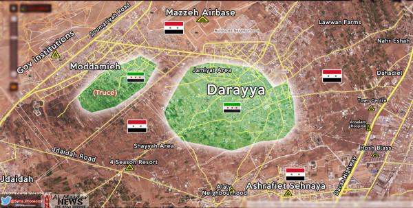 Darayya-map