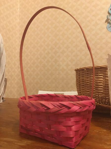 Декоративные корзины, 4 шт (Мск, Цветной б-р)