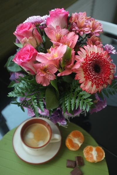Bouquet&coffe