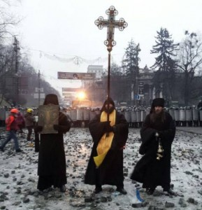 Украинские монахи