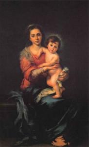 Мадонна с Младенцем. 1650