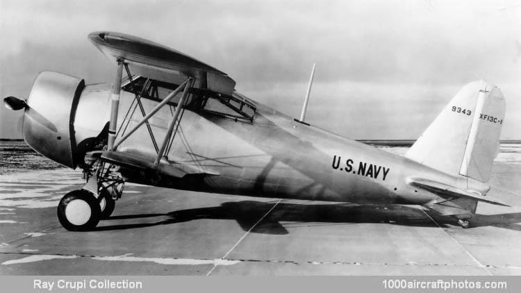 XF-13C-2, обратите внимание на второе крыло