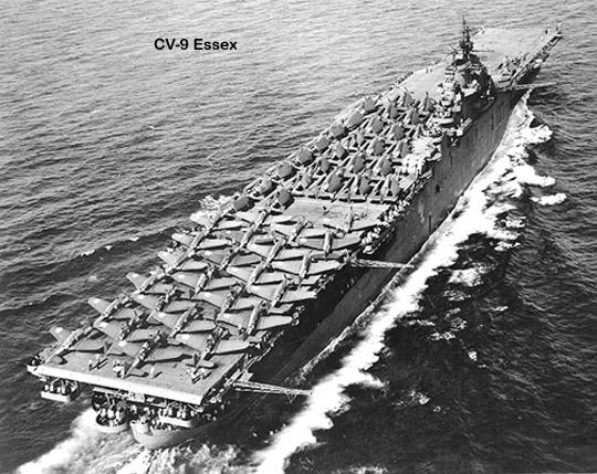 Авианосец CV-9 Essex
